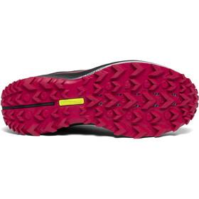 saucony Peregrine 10 Zapatillas Mujer, black/barberry